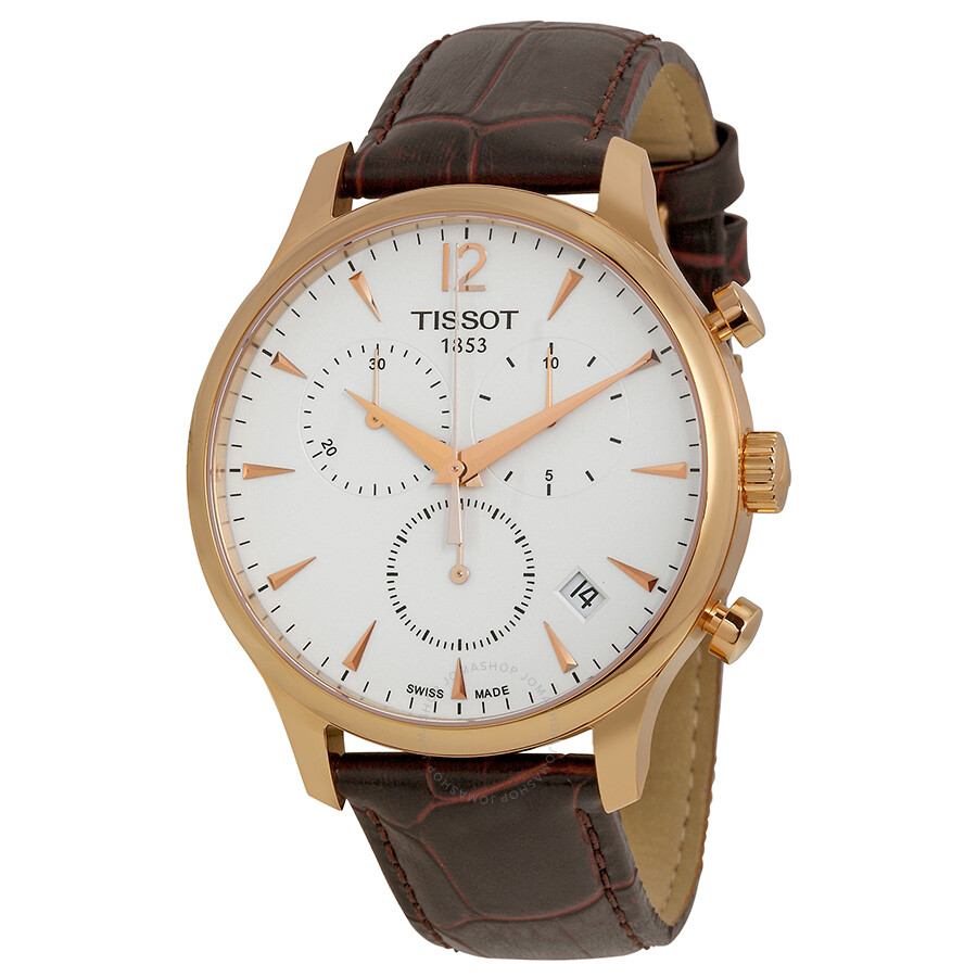 4659a194cdb40 Tissot Tradition Classic Chronograph Rose Gold-plated Men s Watch  T0636173603700 ...