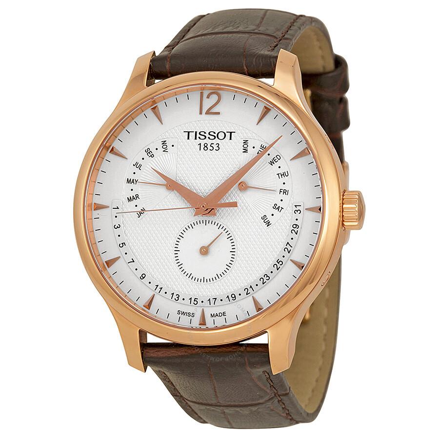 Perpetual Calendar Watch : Tissot tradition perpetual calendar men s watch