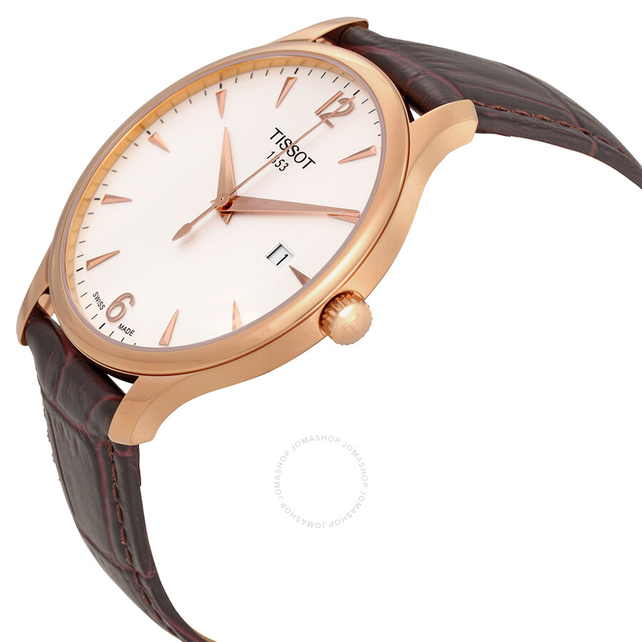 5c00f12b6 ... Tissot Tradition Rose Gold PVD Men's Watch T0636103603700 ...