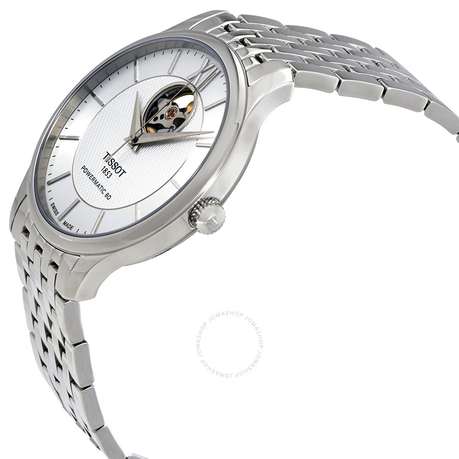 cdc5fbdf5 ... Tissot Tradition Automatic Silver Dial Men's Watch T0639071103800 ...