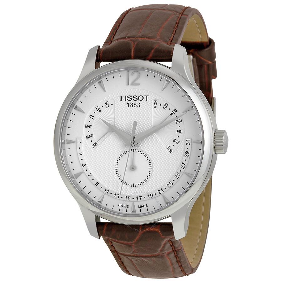 Perpetual Calendar Watch >> Tissot Tradition Perpetual Calendar Men S Watch T0636371603700