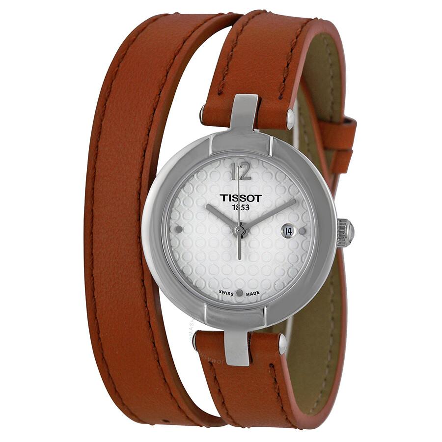 ihocon: Tissot Trend Pinky Silver Dial Ladies Watch 天梭女錶