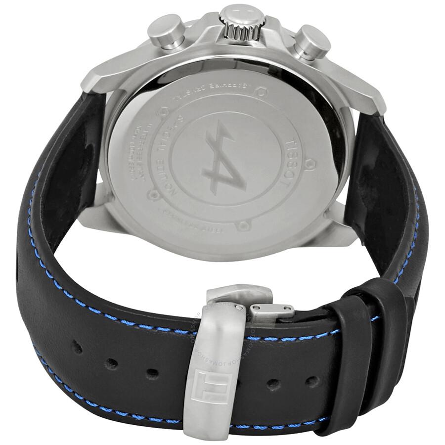 Tissot V8 Alpine Chronograph Black Dial Men S Watch T106 417 16