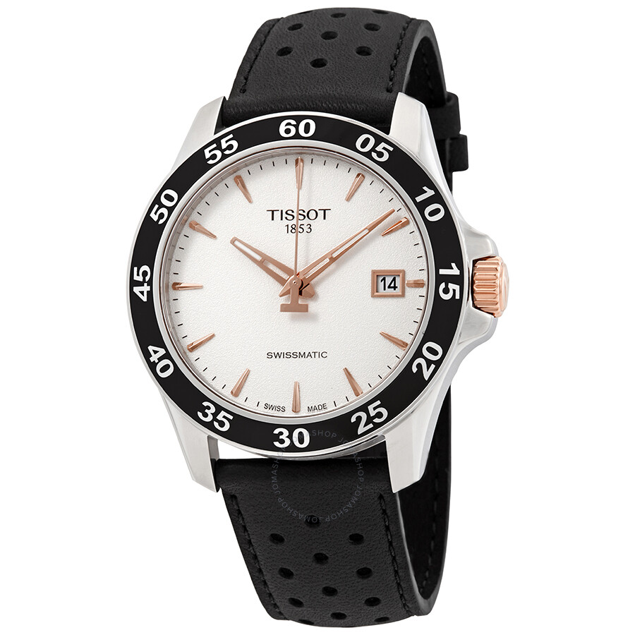 Tissot V8 Automatic Silver Dial Men S Watch T1064072603100 V8 T