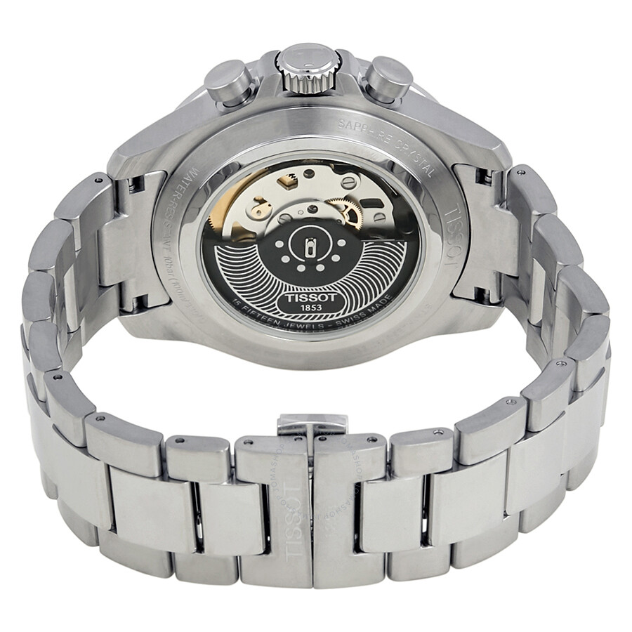 e58302980ca ... Tissot V8 Chronograph Silver Dial Men's Watch T106.427.11.031.00