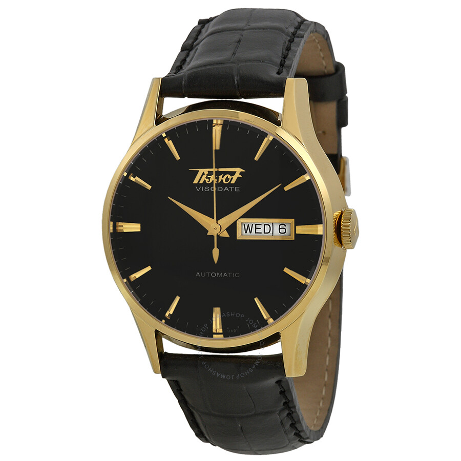 tissot visodate automatic gold pvd s