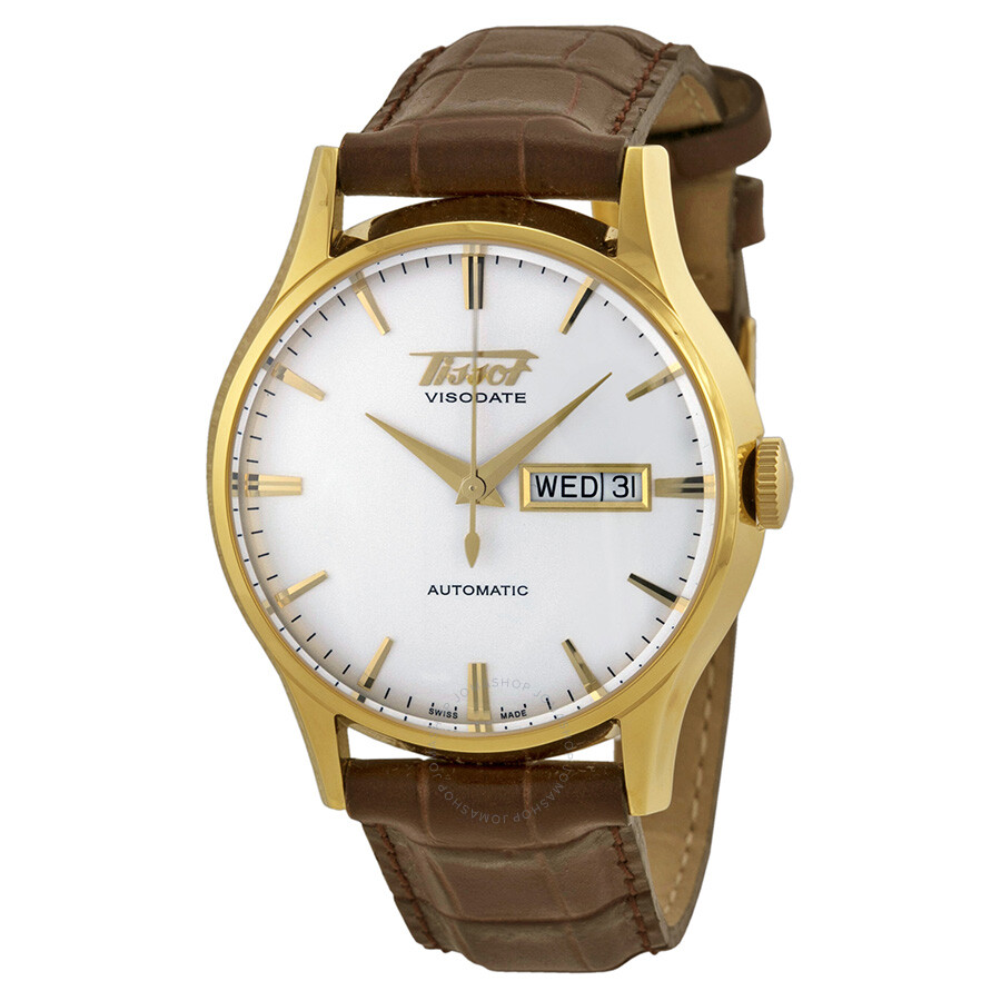 9ac358d32 Tissot Visodate Automatic White Dial Men's Watch T0194303603101 Item No.  T019.430.36.031.01