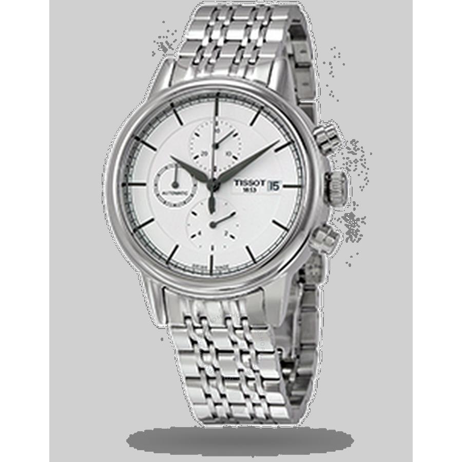 e5af5ed564c Tissot Carson Chronograph Automatic Men s Watch T0854271101100 - Carson -  T-Classic - Tissot - Watches - Jomashop