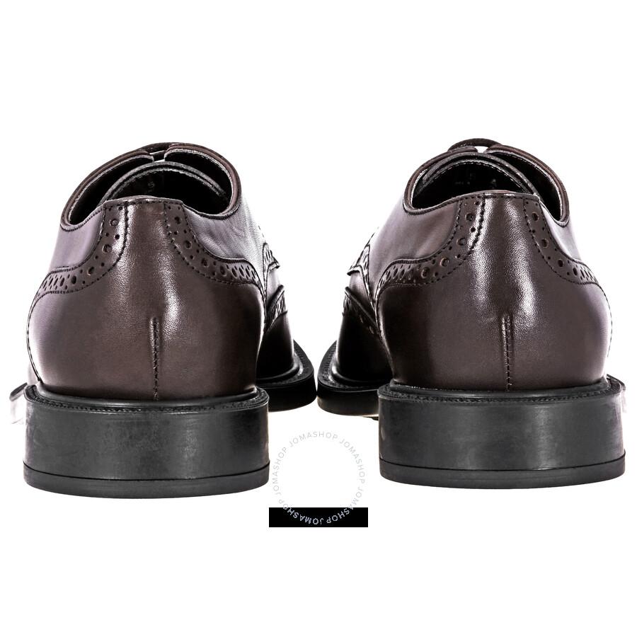 Tod S Lace Up Derby Leather Shoes Brown Xxm45a00c10d90 Shoes