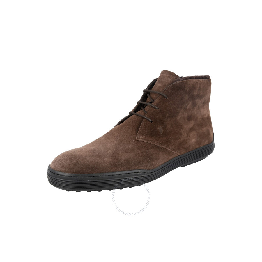 beauty sale retailer best supplier Tods Men's Ankle Suede Boots in Coffee