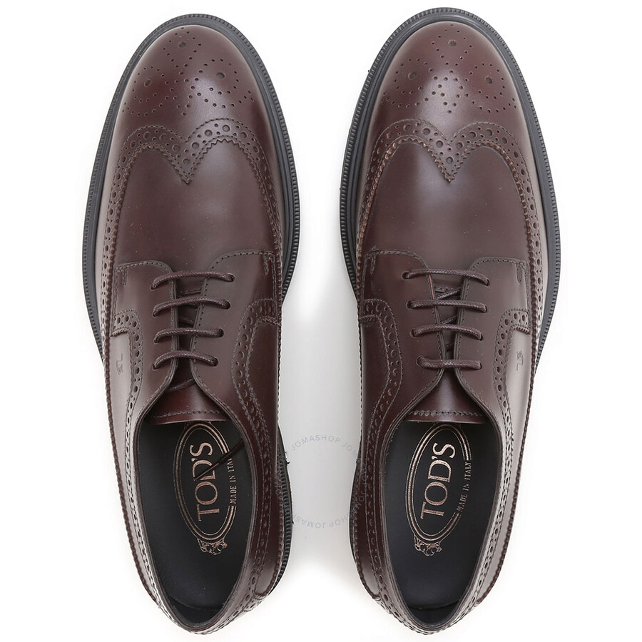 Revendeur Farrow And Ball Bordeaux tods men's dress brogue shoes in bordeaux