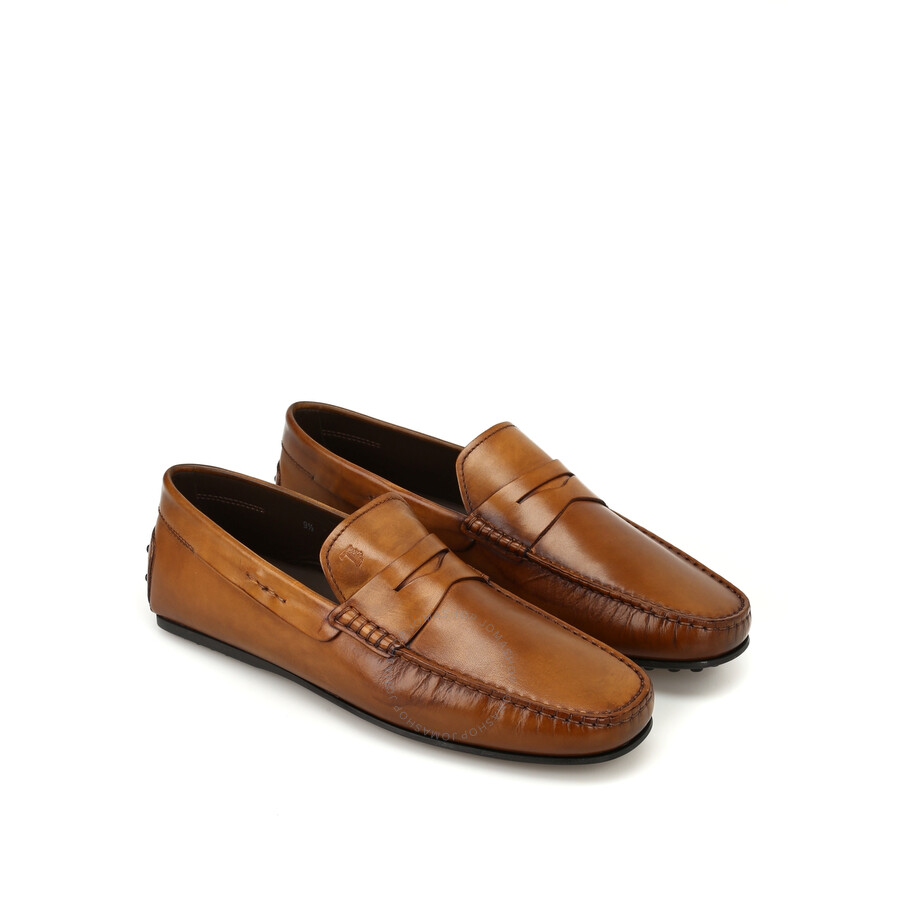 save off classic fit cheaper Tods Men's Whisky Leather Loafers