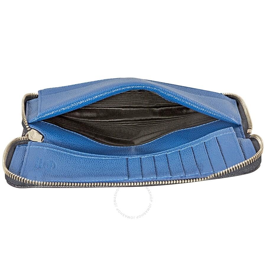 ea4fbbc16b Tods Men's Leather Wallet- Navy/Blue - Tods - Handbags - Jomashop