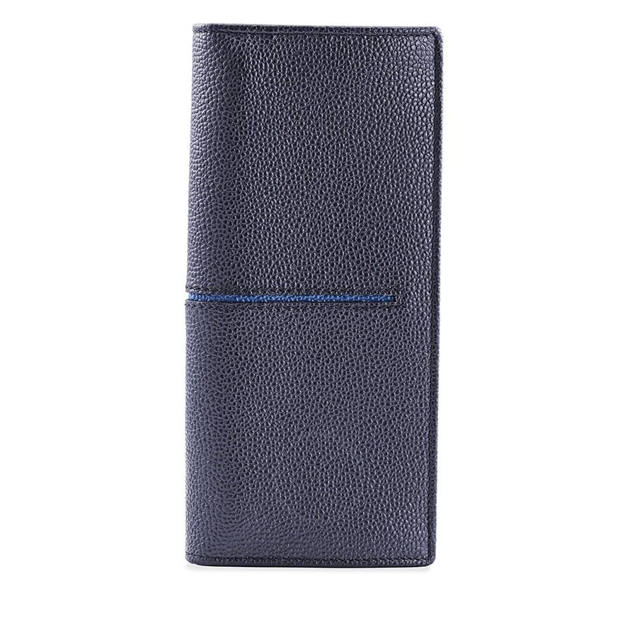 d3c5b168c5 Tods Vertical Grainy Wallet- Navy/Blue - Tods - Handbags - Jomashop