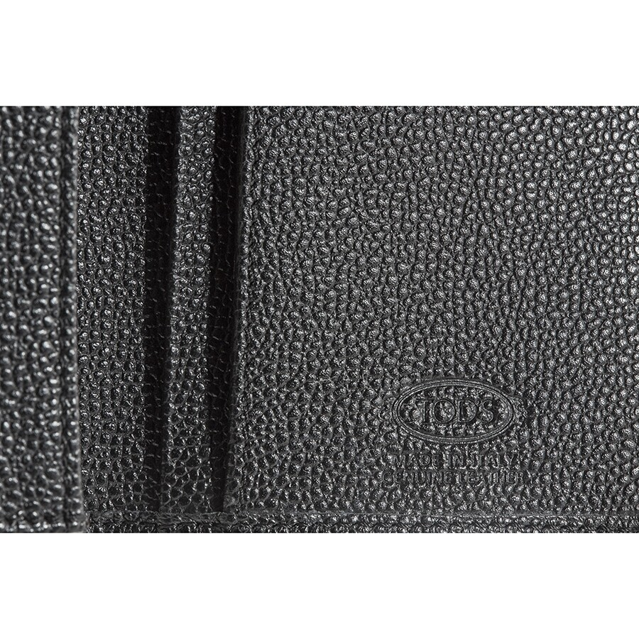 782e91ff3d Tods Vertical Wallet in Black Leather - Tods - Handbags - Jomashop