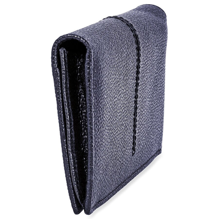 a2b0d6eb47 Tods Vertical Wallet in Leather- Blue - Tods - Handbags - Jomashop