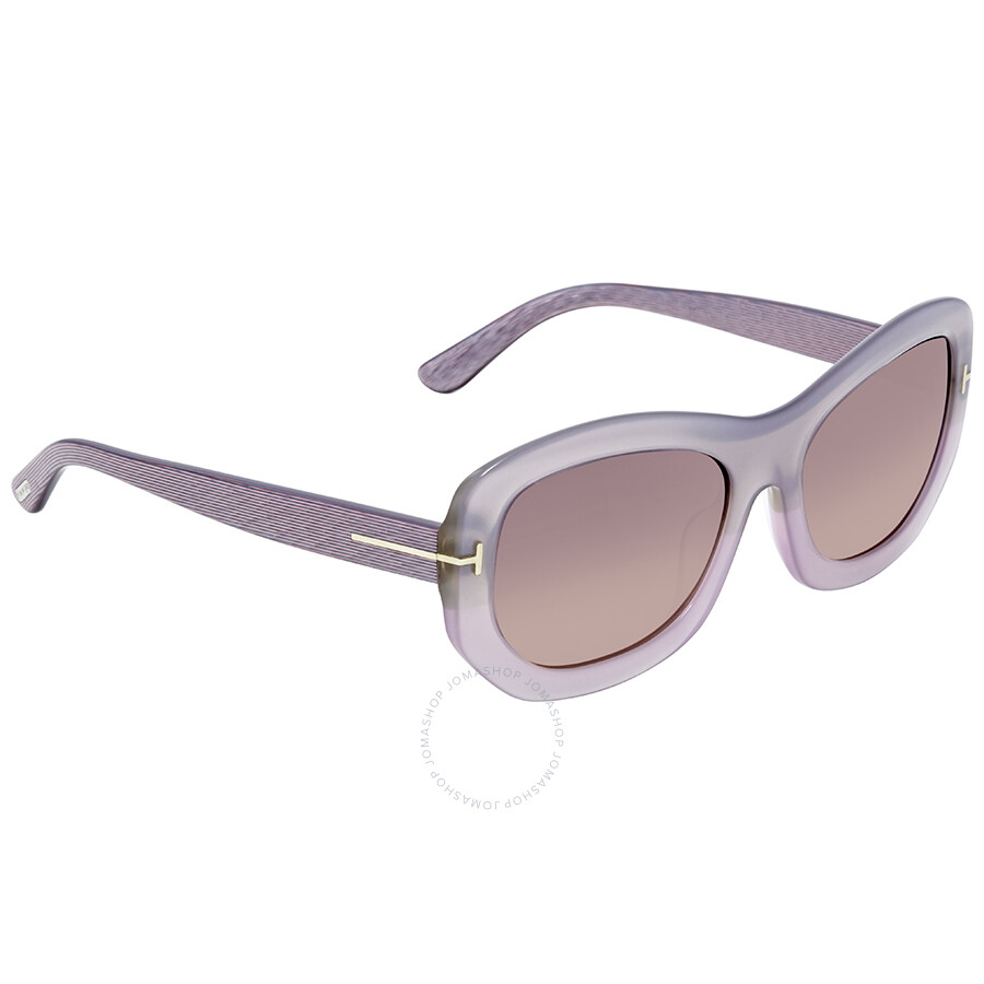 1a3da3c22b7 Tom Ford Amy Violet Gradient Ladies Sunglasses FT0382 80B - Tom Ford ...