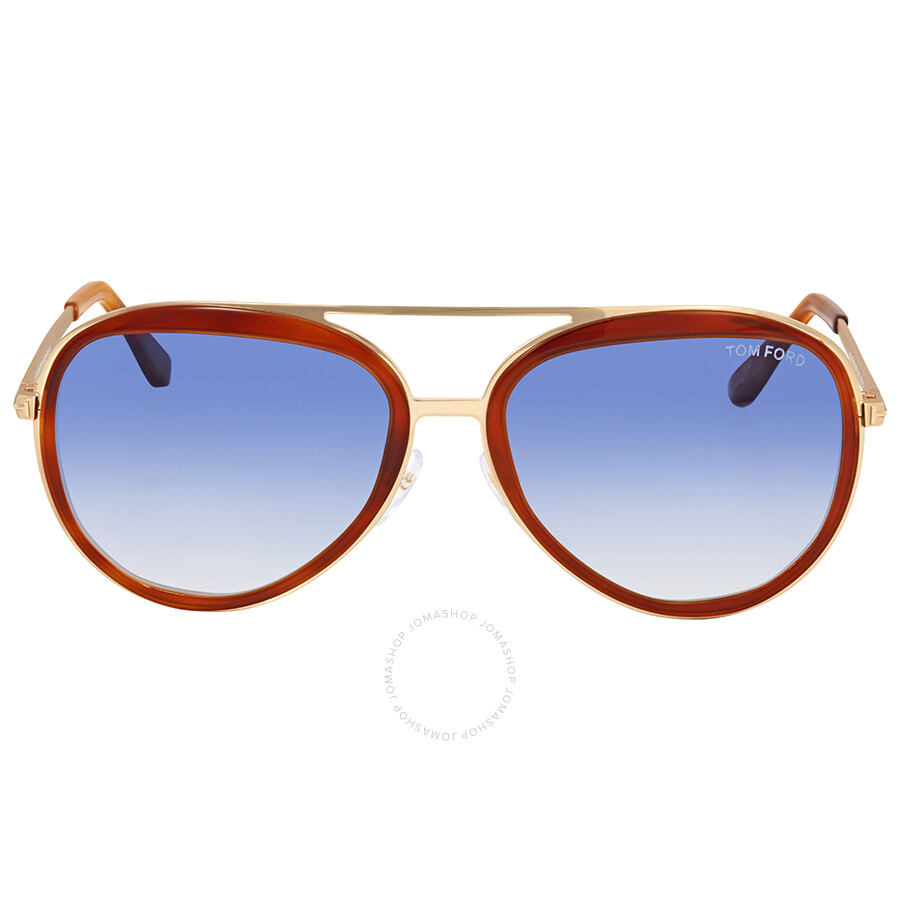 701efac4341 Tom Ford Andy Blue Gradient Sunglasses FT0468 56W - Tom Ford ...