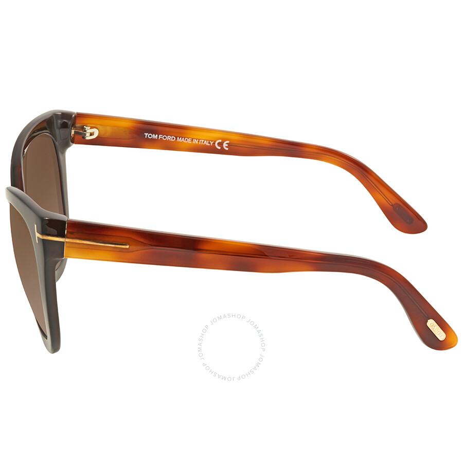 710d6224b8 Tom Ford Arabella Brown Gradient Cat Eye Sunglasses FT0511 05G - Tom ...