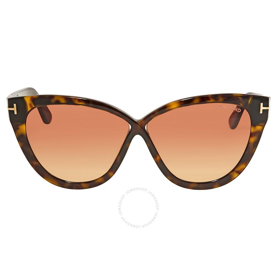 4ea05aba7fe2 Tom Ford Arabella Pink Gradient Cat Eye Sunglasses FT0511 52B - Tom ...