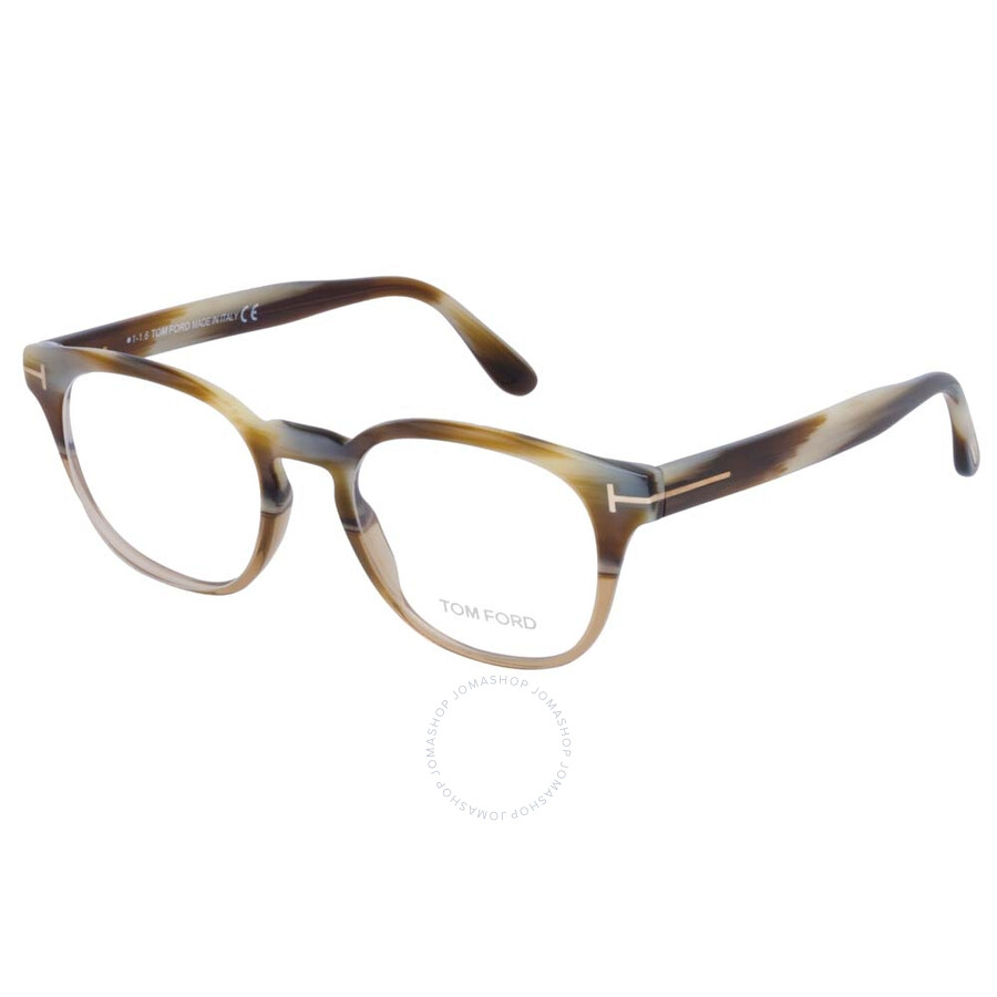 4118ab864913a Tom Ford Beige Horn Eyeglasses FT5400 65A 48 - Tom Ford - Sunglasses ...