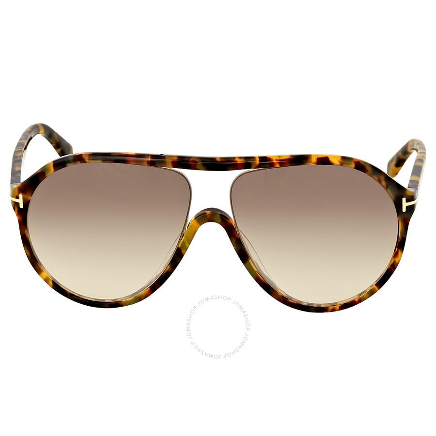 c257950746 Tom Ford Blonde Havana Aviator Sunglasses - Tom Ford - Sunglasses ...