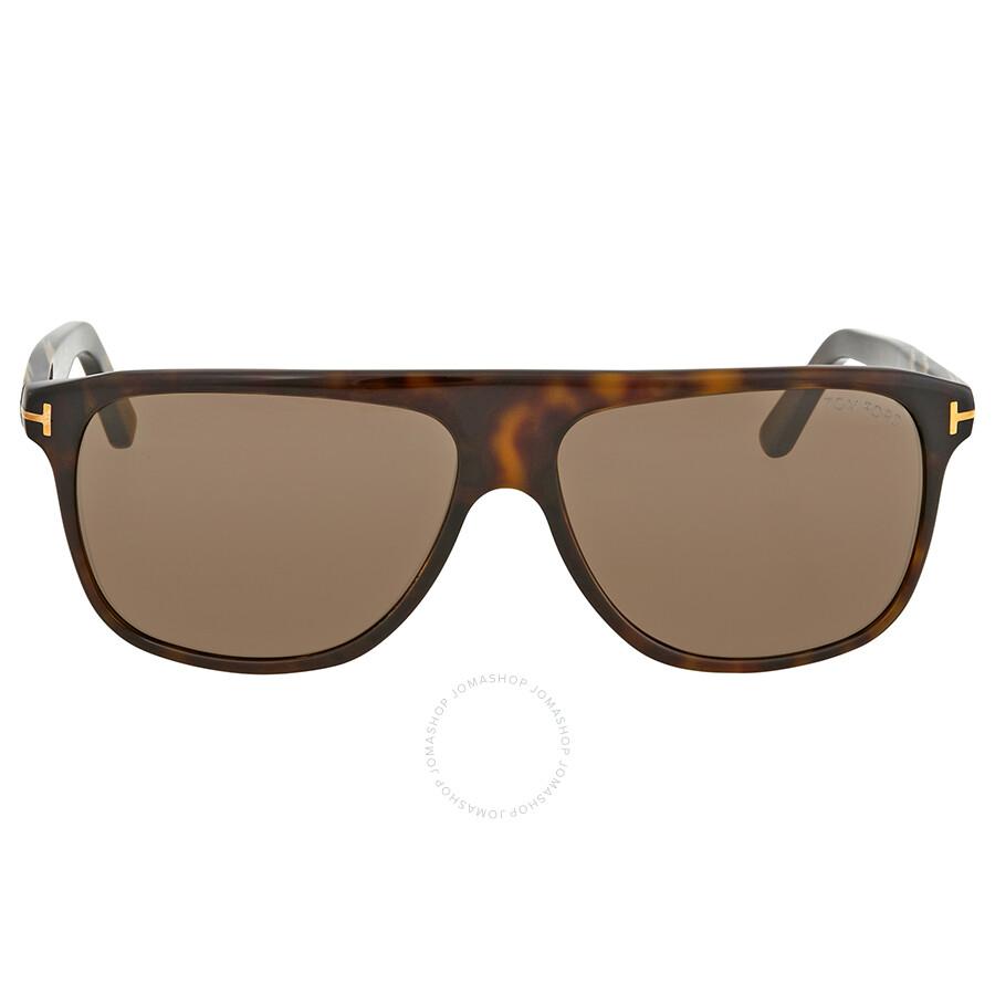 dd5e745bb58 Tom Ford Brown Square Sunglasses FT0501 52E - Tom Ford - Sunglasses ...