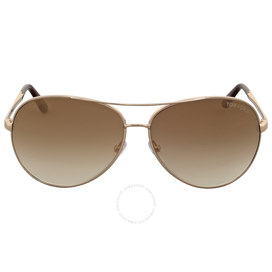 d00f944f15 Tom Ford Charles Rose Gold Aviator Sunglasses Item No. FT0035-28G