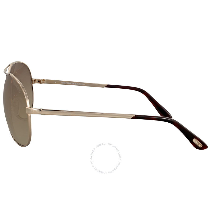 7370a54fe345 Tom Ford Charles Rose Gold Aviator Sunglasses - Tom Ford ...
