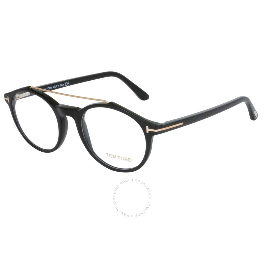 45731356c2 Tom Ford Clear Shiny Black Eyeglasses FT5455 001 50 - Tom Ford ...