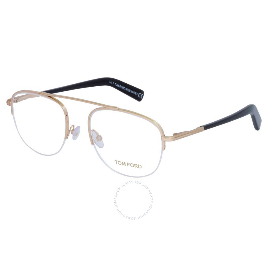 a13dab207e Tom Ford Clear Shiny Rose Gold Eyeglasses FT5450 028 51 - Tom Ford ...