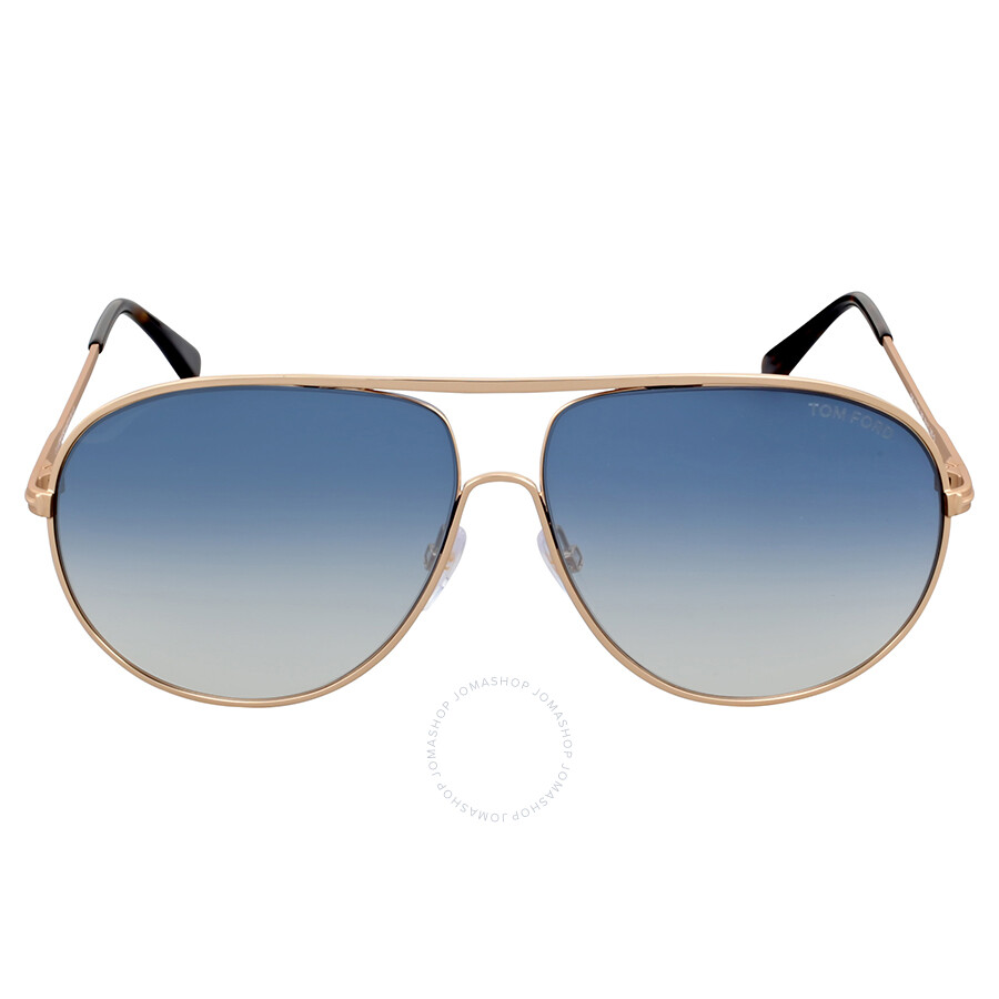 266adbaf1cb43 Tom Ford Cliff Blue Gradient Aviator Sunglasses Item No. FT0450-28P