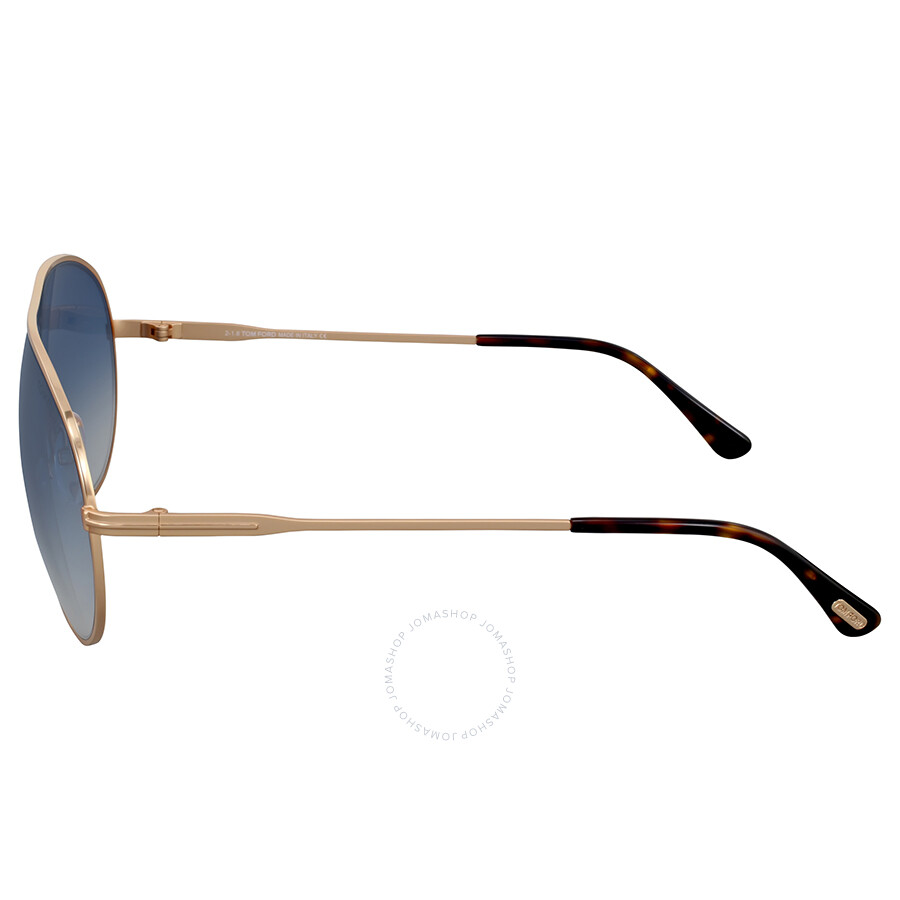 66caf98066d46 Tom Ford Cliff Blue Gradient Aviator Sunglasses - Tom Ford ...