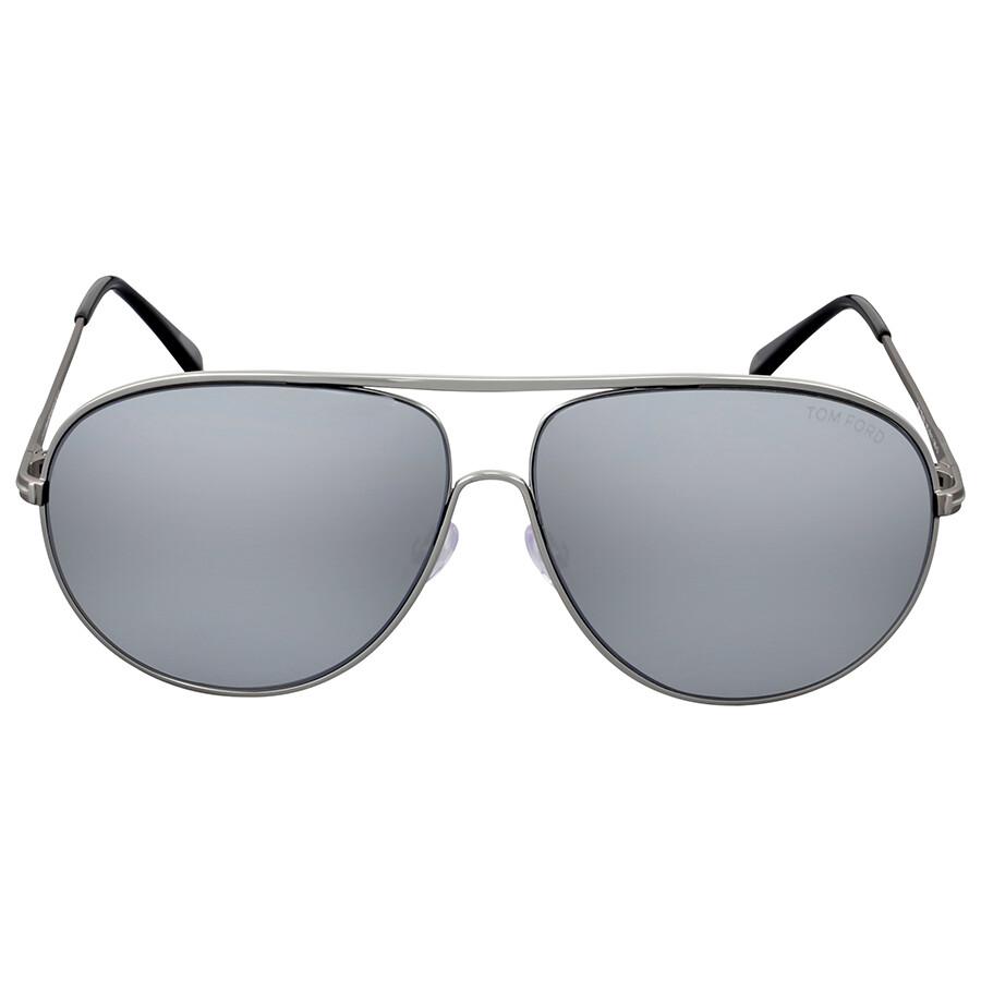 7fe1bf40ee57e Tom Ford Cliff Smoke Mirror Metal Sunglasses - Tom Ford - Sunglasses ...