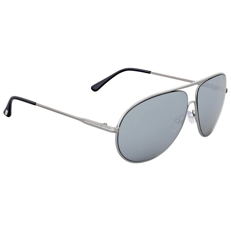 2793d8db962fc Tom Ford Cliff Smoke Mirror Metal Sunglasses - Tom Ford - Sunglasses ...