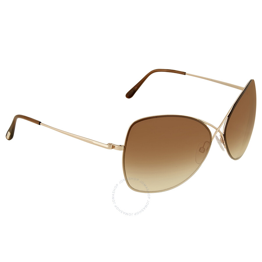 861c0d65e86 Tom Ford Colette Rose Gold Butterfly Sunglasses - Tom Ford ...