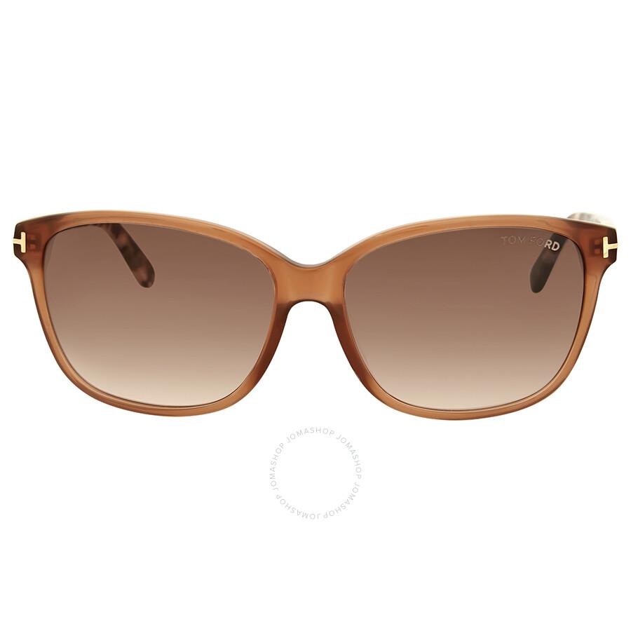 b30d8fa3e4214 Tom Ford Dana Brown Gradient Sunglasses - Tom Ford - Sunglasses ...