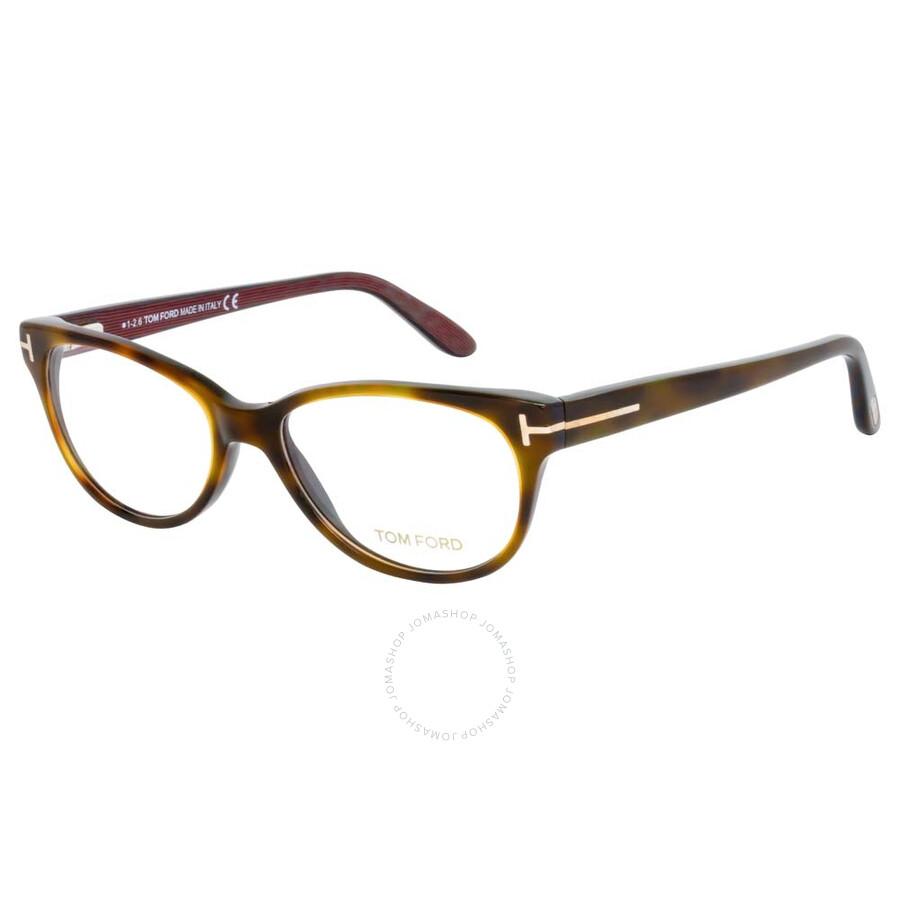 71eba7616e93 Tom Ford Dark Havana Eyeglasses FT5292 052 53 - Tom Ford ...