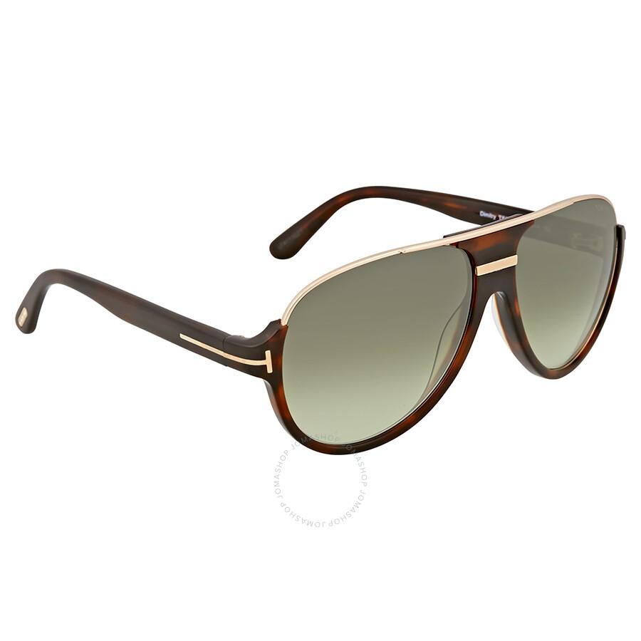 b2619deeb36be Tom Ford Dimitry Vintage Gradient Green Sunglasses - Tom Ford ...