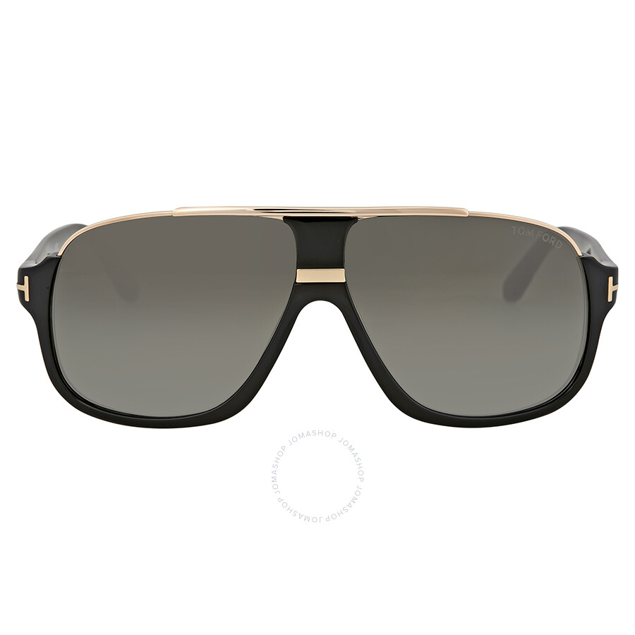 2a3fc97336518 Tom Ford Elliot Black Smoke Sunglasses - Tom Ford - Sunglasses ...