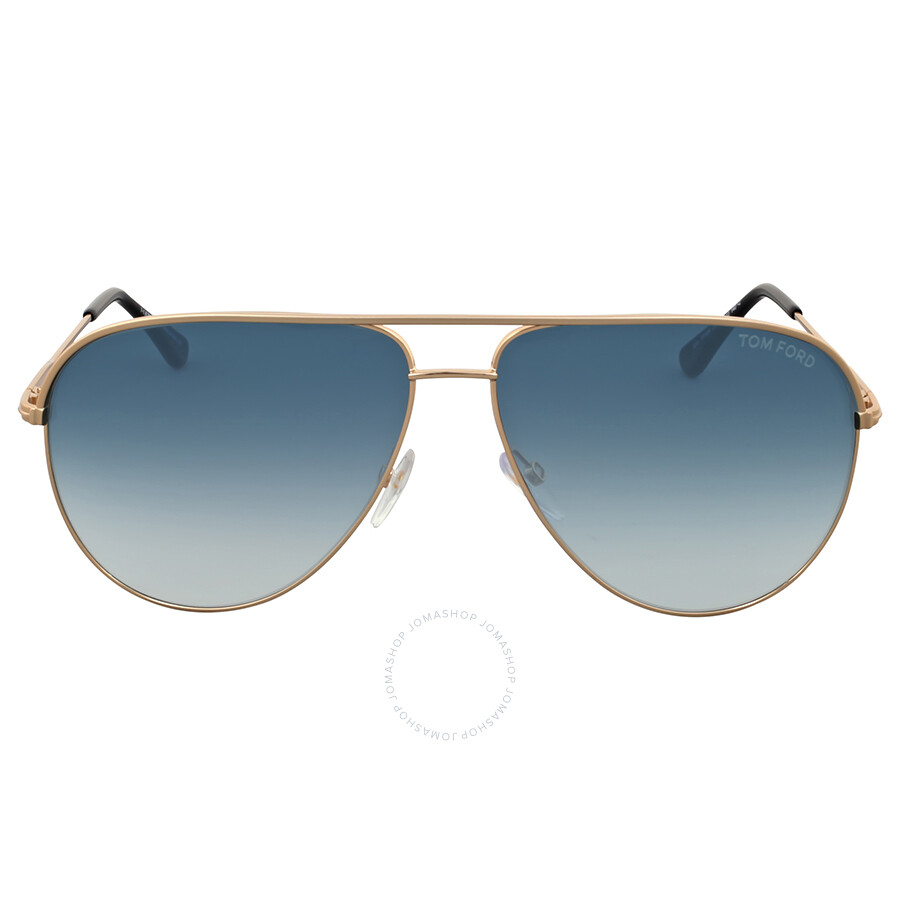 7b1669e41 Tom Ford Erin Rose Gold Aviator Flash Sunglasses Item No. FT0466-29P