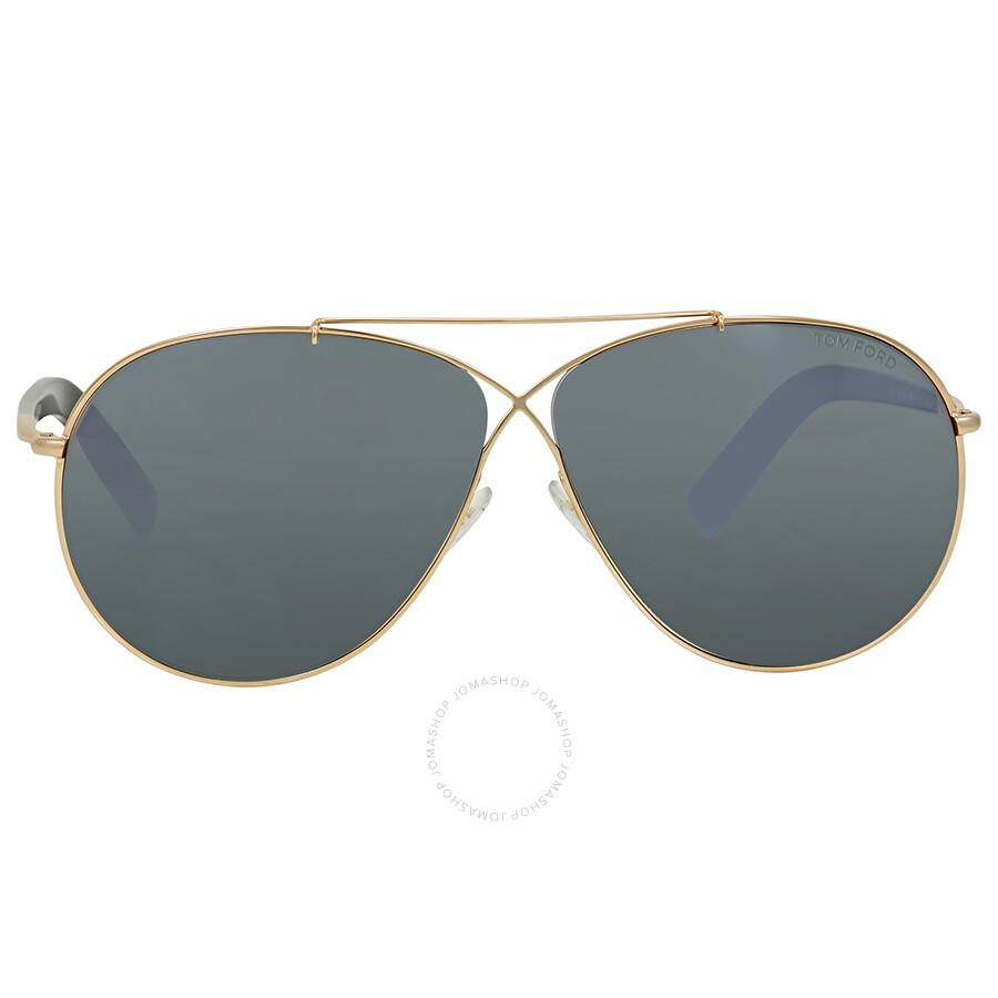 4724d696a7 Tom Ford Eva Gold Aviator Sunglasses - Tom Ford - Sunglasses - Jomashop