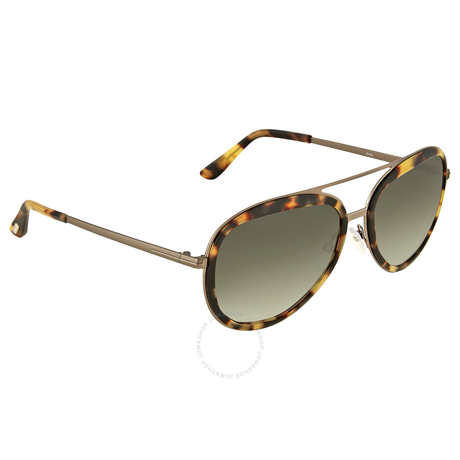 020dcd10fb0 Tom Ford Andy Green Gradient Aviator Sunglasses - Tom Ford ...