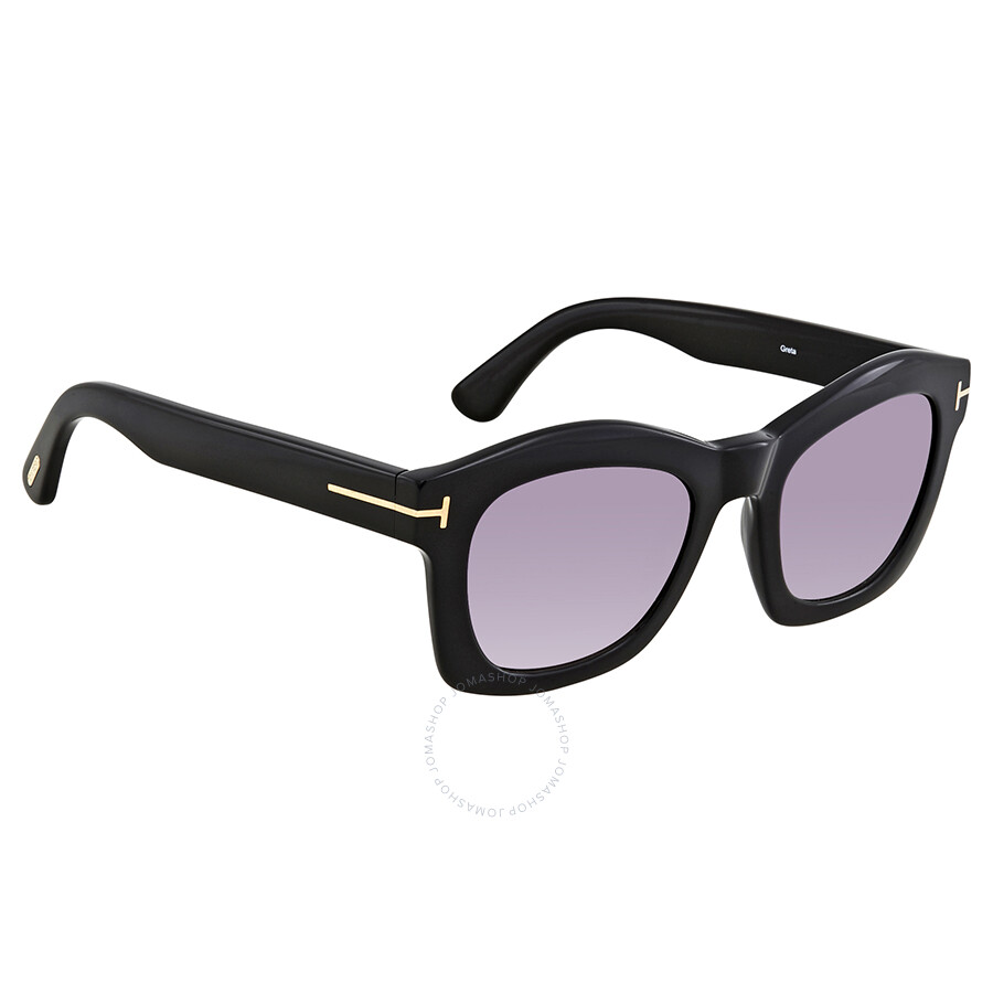 2512a5685f5f Tom Ford Greta Violet Gradient Square Sunglasses FT0431 Item No. FT0431 01Z