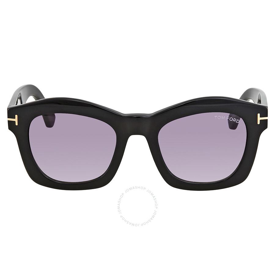 6bd6c3de7a09 Tom Ford Greta Violet Gradient Square Sunglasses FT0431 01Z - Tom ...