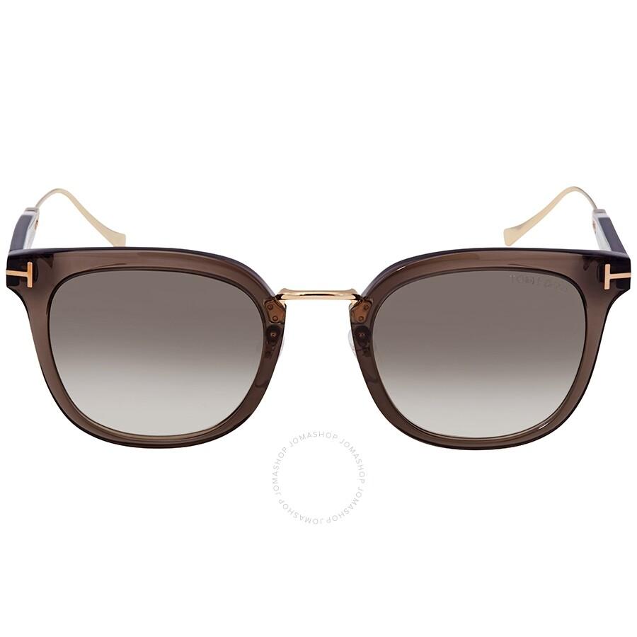 312df80a7c39 Tom Ford Grey Square Sunglasses FT0548K 20F 53 - Tom Ford ...