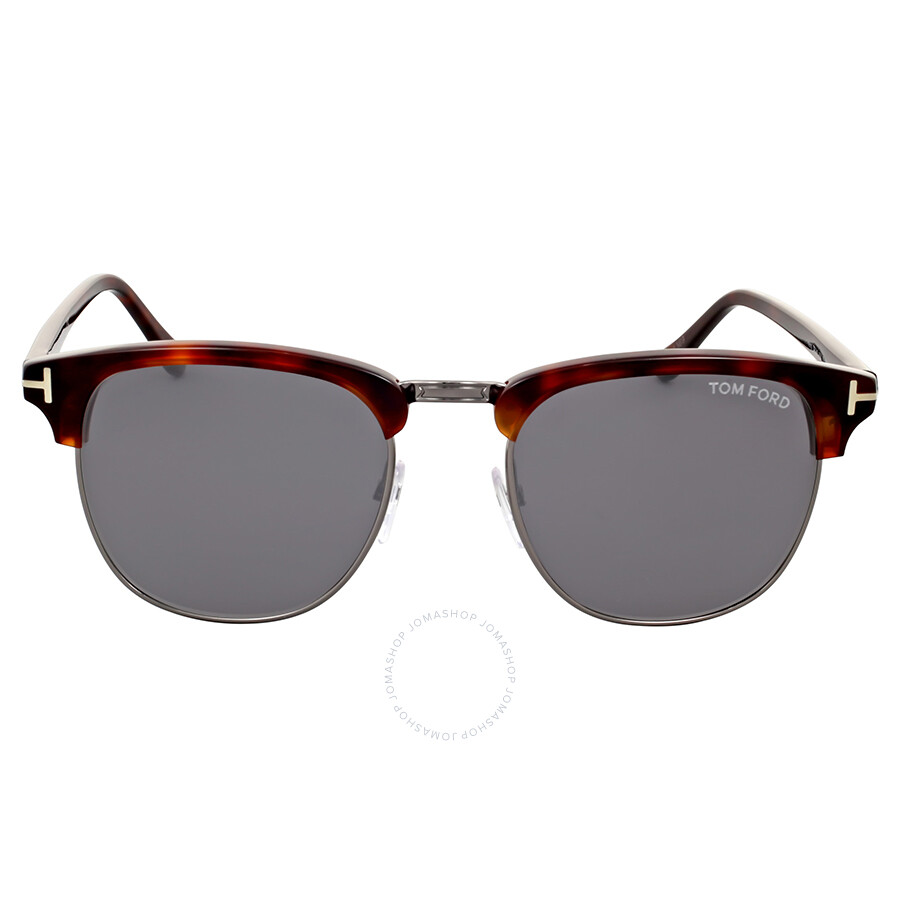 3cb882464c745 Tom Ford Henry Dark Havana Sunglasses - Tom Ford - Sunglasses - Jomashop