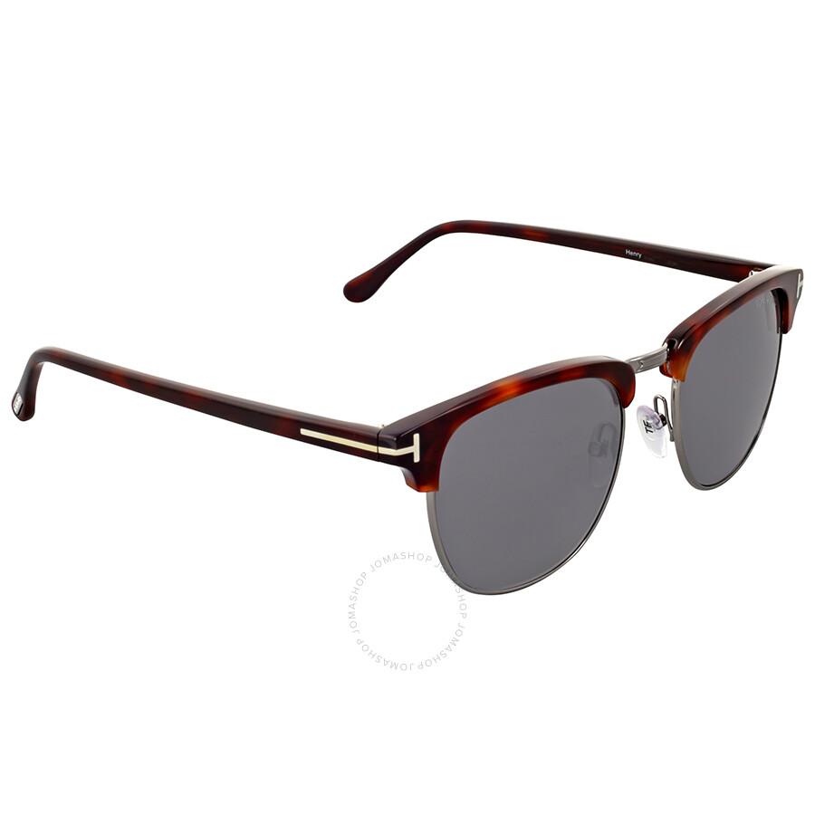 tom ford henry dark havana sunglasses tom ford. Black Bedroom Furniture Sets. Home Design Ideas