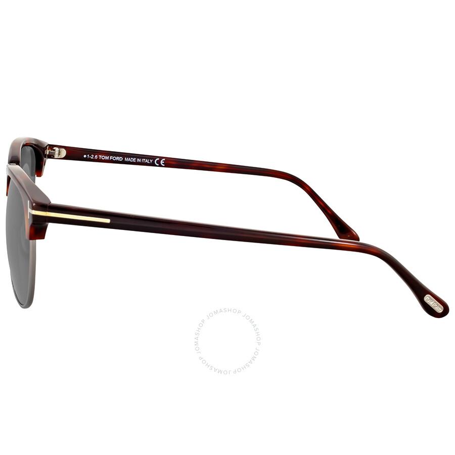 fbb83362814 Tom Ford Henry Dark Havana Sunglasses - Tom Ford - Sunglasses - Jomashop