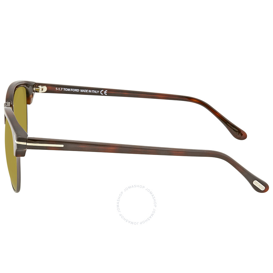 Tom Ford Henry Green Yellow Men s Sunglasses FT0248-52N 51 - Tom ... 2aa7f9fd9e4c0